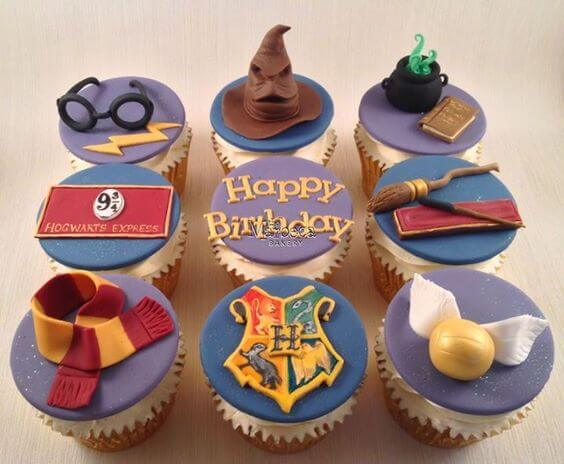 Cupcake Harry Potter Festa Infantil