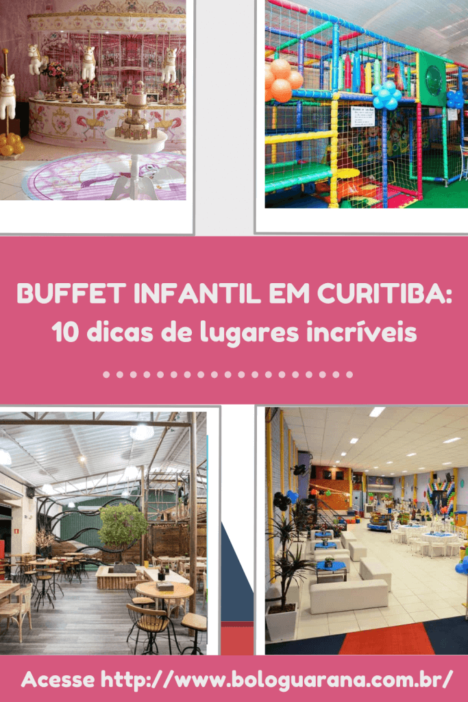 buffet infantil pin
